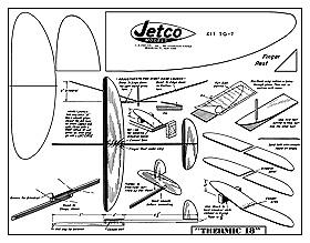 balsa glider plans