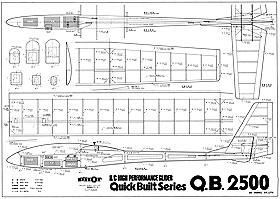model glider plans